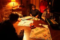 osoby grające w planszówkę
